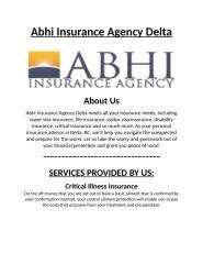 Life Insurance Delta.docx