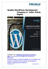 Quality WordPress Development Company in India-converted.pptx