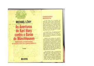 michael lowy - as aventuras de Karl Marx contra o barão de M.pdf