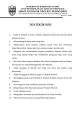 TATA TERTIB GURU & SISWA.doc