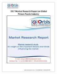 2017 Market Research Report on Global Picture Puzzle Industry.pdf
