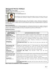 Professional CV of Noman Siddique.doc