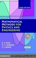 Mathematical Methods for Physics and Engineering.PDF