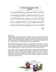 surah al-jumuah ayat 9 - 11 menunaikan kewajipan solat jumaa.doc