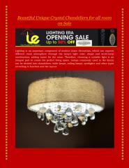 Beautiful Unique Crystal Chandeliers for all room on Sale.pdf
