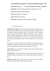 a relação entre a teoria de piaget e vygotsky - maxwel.rtf