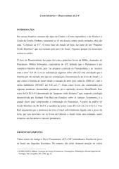 Credo Histórico Dt 26.5-9