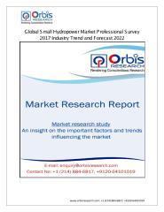 Global Small Hydropower Market Professional Survey.pdf