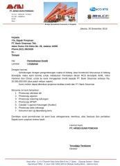 ABP 076 Sinarmas Surat Pengajuan Kredit Pembiayan Mesin.docx