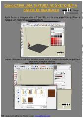 Como criar uma textura no SketchUp a partir de uma imagem.pdf