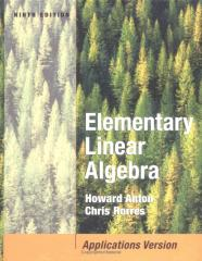 Mathematics - Elementary Linear Algebra with Applications, 9th Edition - (Howard Anton, Chris Rorres) Wiley 2005.pdf