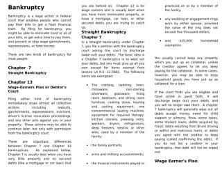 Bankruptcy Brochure.doc