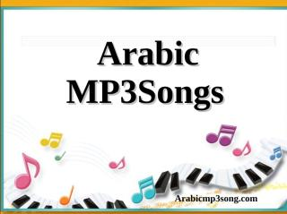Arabic MP3 Songs (عيني جفاها).pdf