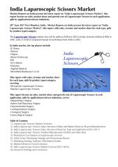 India Laparoscopic Scissors Market.docx
