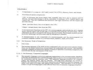 Microprocessor 8085  -  Solution Manual.pdf