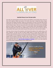 Find The Satellite Phones From The Best Seller-Allovervcomm.pdf