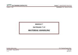 Module 7 (Maintenance Practices) Sub Module 7.14 (Material Handling).pdf