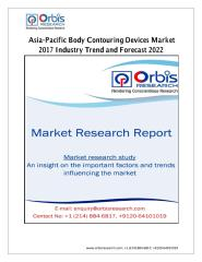 Asia-Pacific Body Contouring Devices Market 2017 Industry Trend and Forecast 2022.pdf