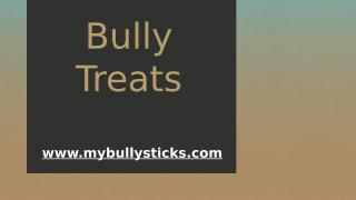 Bully Treats.pptx