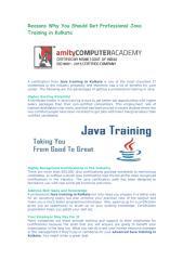Reasons Why You Should get a Professional Java Training in Kolkata.pdf