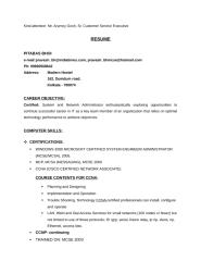 Resume of PITABAS_BHOI (Dilip Panda).doc