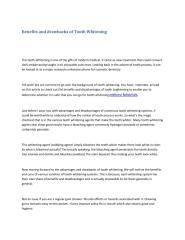 Benefits and drawbacks of Tooth Whitening.pdf