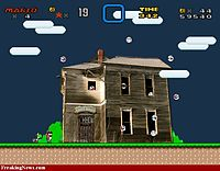 Mario Ghost House 3 Super Mario World-ghost House
