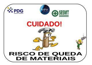 25 - Risco de queda de materiais.doc