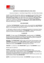Contrato de Comisión Mercantil para Venta.doc
