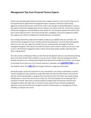 Management Tips from Personal Finance Experts.pdf