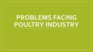 Problems facing poultry industry.pdf